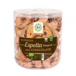 Rosquillas de Espelta Integral con Chocolate Bio 1Kg Sol Natural - Imagen 1