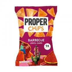 Chips de lenteja Barbacoa 85g Proper - Imagen 1