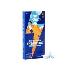 Chicle Energizante sabor menta 10 uds OneGum - Imagen 1