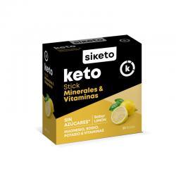 Minerales y Vitaminas 20 sticks Siketo - Imagen 1