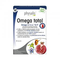 Omega Total 30 capsulas Physalis - Imagen 1