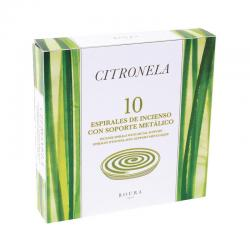 Incienso espiral Antimosquitos Citronela 10 unds Roura - Imagen 1