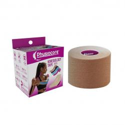 Kinesiology tape Beige 5x5 Physiocare - Imagen 1