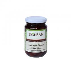 Aceitunas Negras Premium Bio 350g Bionsan - Imagen 1