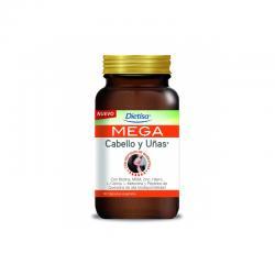 Mega Cabello y Uñas 60 capsulas Dietisa - Imagen 1