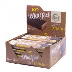Whafeel Bañado Espelta integral y Cacao bio 16x40g Sol Natural - Imagen 1