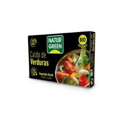 Cubito caldo de verduras bio 10x8,4g Naturgreen - Imagen 1