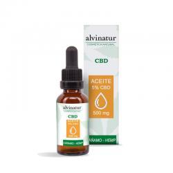 Aceite CBD 5% Bio 10ml Alvinatur - Imagen 1