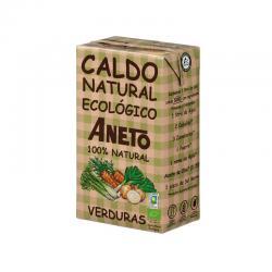 Caldo natural de Verduras Bio 1L Aneto - Imagen 1