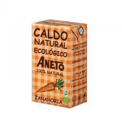 Caldo natural de Zanahorias Bio 1L Aneto - Imagen 1