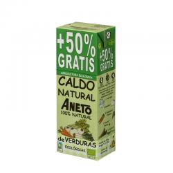 Caldo natural de Verduras Bio 1L+ 500ml Aneto - Imagen 1