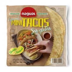 Tortilla de maiz especial Mini Tacos sin gluten 200g Nagual - Imagen 1
