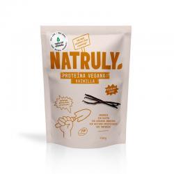 Proteina Vegana 75% Vainilla Bio 350g Natruly - Imagen 1