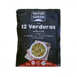 Sopa de 12 verduras sobre 40g Naturgreen - Imagen 1