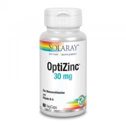 OptiZinc (Zinc+ B6) 60vcaps Solaray - Imagen 1