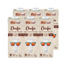 Bebida Chufa Nature Bio 6x1L Ecomil - Imagen 1