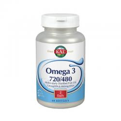 Omega 3 720/480 60 perlas KAL - Imagen 1