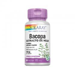 Bacopa 100mg 60vcaps Solaray - Imagen 1