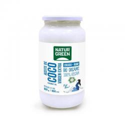 Aceite de coco virgen extra bio 860ml Naturgreen - Imagen 1