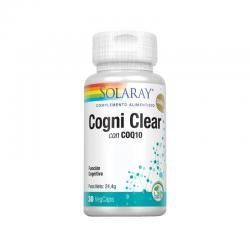 Cogni Clear con Q10 30 vcaps Solaray - Imagen 1