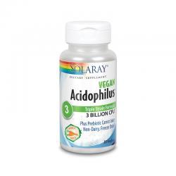 Acidophilus Plus 30 vcaps Solaray - Imagen 1