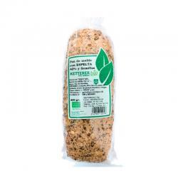 Pan con Espelta, semillas y masa madre Bio 400g Ketterer - Imagen 1