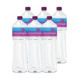 Agua Mineral Natural Alcalina PH9,5 (6x1.5L) Agua de Monchique - Imagen 1