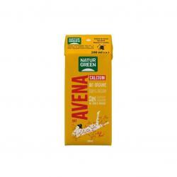 Bebida de avena con calcio bio 200ml Naturgreen - Imagen 1
