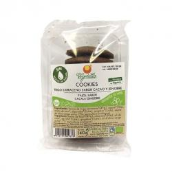 Cookies sarraceno, algarroba, jengibre Bio 140g Vegetalia - Imagen 1