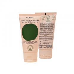 Crema solar facial natural SPF+50 Bio 50ml Nuura - Imagen 1