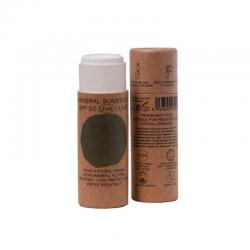 Stick crema solar facial natural SPF+50 Bio18ml Nuura - Imagen 1