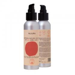 Crema fluida solar natural SPF+50 Bio 125ml Nuura - Imagen 1