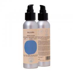 Crema fluida solar natural NIÑOS (kids) SPF+50 Bio 125ml Nuura - Imagen 1