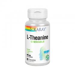 L-Theanina 200mg 30 comprimidos Solaray - Imagen 1