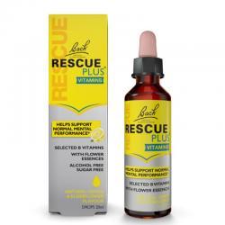 Rescue Plus Vitaminas 20ml Bach - Imagen 1
