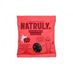 Cacao&Nuts cacahuete Chocolate Con Leche 150g Natruly - Imagen 1