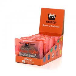 Galleta con nibs de cacao & nueces Bio 12x50g Kookie Cat - Imagen 1