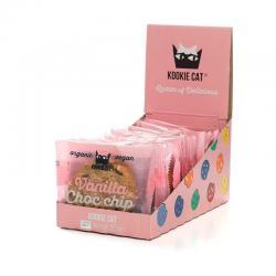 Galleta con vainilla & chocolate Bio 12x50g Kookie Cat - Imagen 1