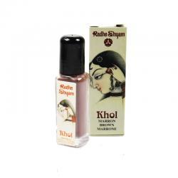 Khol marron polvo 4g Radhe Shyam - Imagen 1