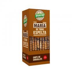Galletas maria de espelta y chips chocolate Bio 177g Biocop - Imagen 1