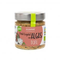 Pate vegetal con algas y tofu Bio 180g Algamar - Imagen 1