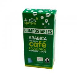 Cafe arabica capsula compostable 10x5g Alternativa 3 - Imagen 1