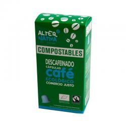Cafe descafeinado capsula compostable 10x5g Alternativa 3 - Imagen 1