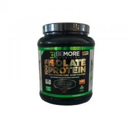Proteina 100% aislada + enzimas chocolate 1kg BeMore - Imagen 1