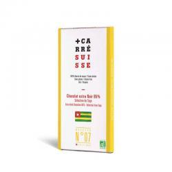 Tableta chocolate negro 85% Togo Bio 100g Carre Suisse - Imagen 1