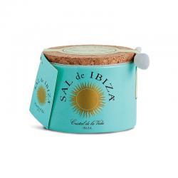 Flor de sal bote ceramica 150g Sal de Ibiza - Imagen 1