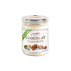Crema de choco blanco,pistacho,almendras Gourmet 235g Grashoff - Imagen 1