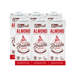 Bebida de almendras Barista Almond Bio 6x1L Ecomil - Imagen 1