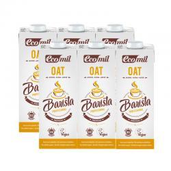 Bebida de avena Barista Oat Bio 6x1L Ecomil - Imagen 1