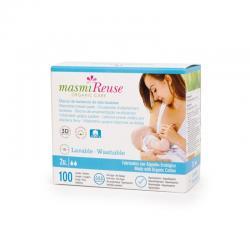 Discos de lactancia de tela lavable Bio Masmi - Imagen 1